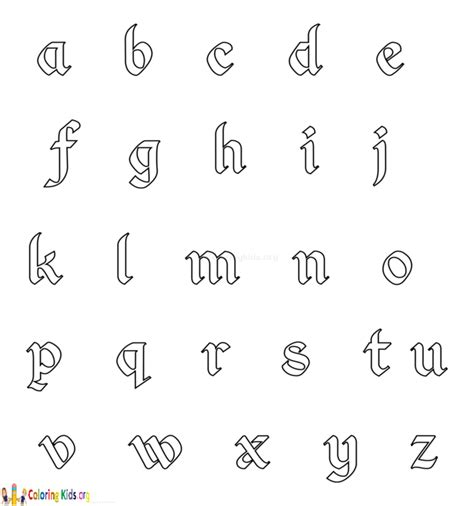 coloring pages of small letters small alphabet colouring pages alphabet coloring pages