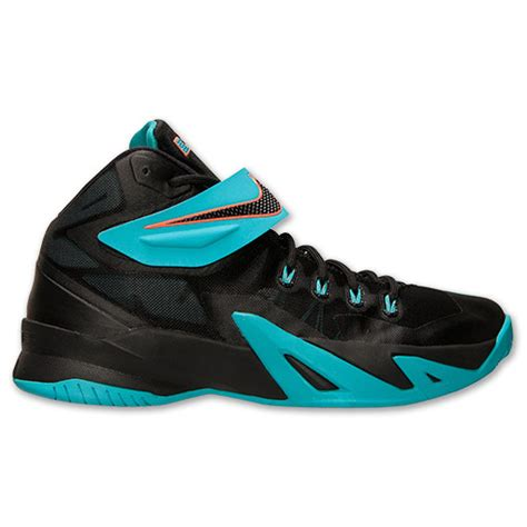 s nike zoom lebron soldier 8 basketball shoes black