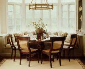 Bay Window Banquette by Banquette Seating Dining Room Banquette