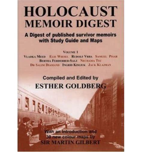 my childhood a holocaust memoir books holocaust memoir digest volume 1 goldberg 9780853035282