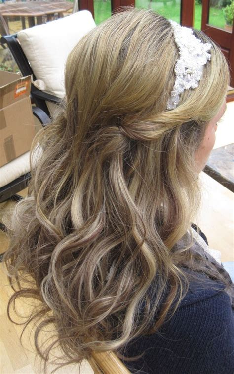 Wedding Hairstyles Half Up Half With Headband by 25 Best Ideas About Headband Hairstyles On