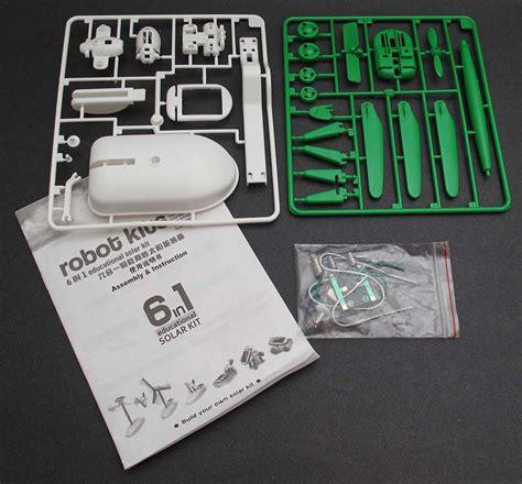 Solar Robot 6 In 1 Education Solar Kit 6 in 1 solar robot kit review the gadgeteer