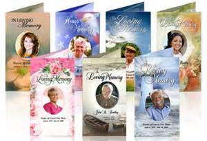 Make Your Own Funeral Program In Loving Memory Cards Funeral Program Template