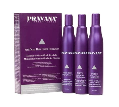 pravana hair color extractor hair