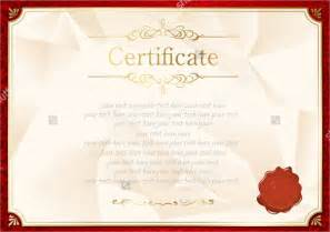 blank certificate template free download www pixshark