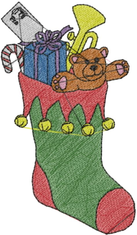 embroidery patterns for christmas stocking free embroidery design christmas stocking