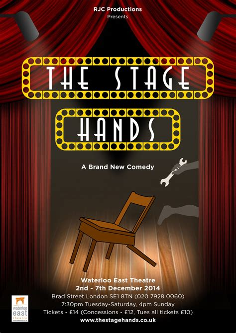 stage hands waterloo east theatre london