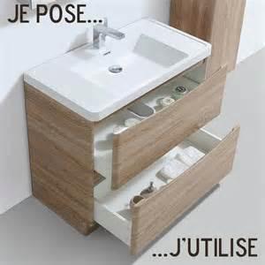 Meuble Salle De Bain Avec Vasque A Poser