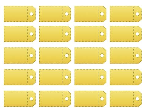 Price Tag Template printable price tag templates make your own price tag labels