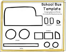 Printable School Template by Free Printable School Craft Template Flannel Boards