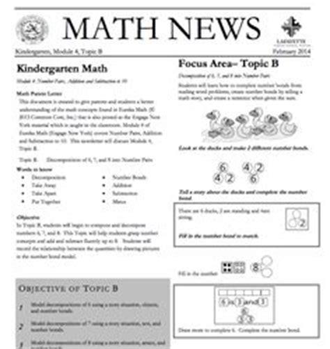 Parent Letter Eureka Math Kindergarten Newsletter On Class Newsletter Preschool Newsletter And Weekly