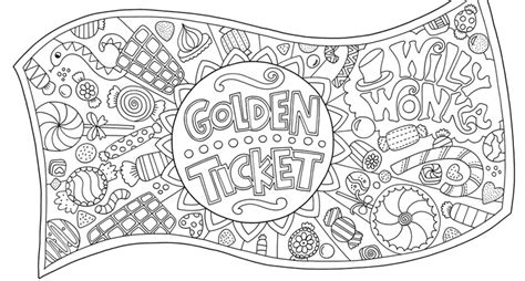 Charlie And The Chocolate Factory Free Colouring Pages And The Chocolate Factory Coloring Pages