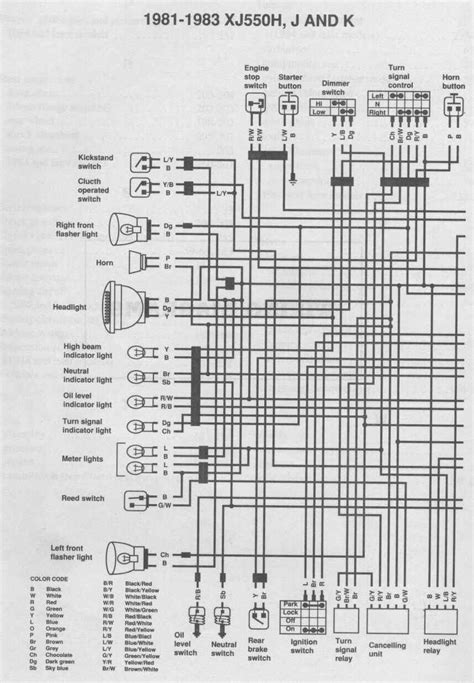 wiring diagram for a 82 yamaha maxim 550 28 images