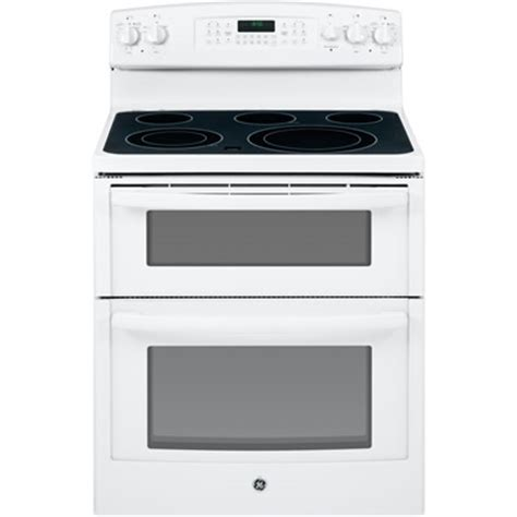 ge jb850dfww 30 inch electric smooth top oven range
