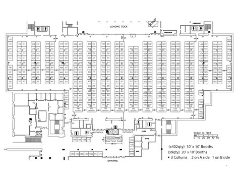 fan expo floor plan expo floor plan floorplans benchmark expo