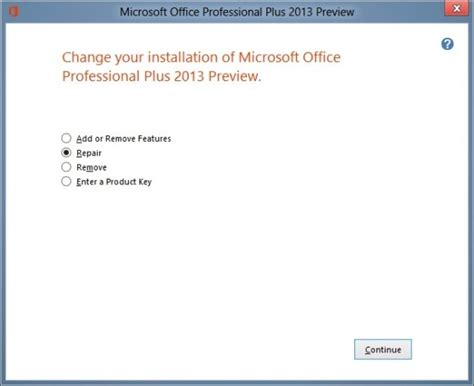install visio 2013 how to repair office 2013 installation