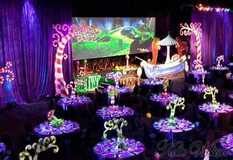 themed corporate events ideas willy wonka themed event over the top event ideas