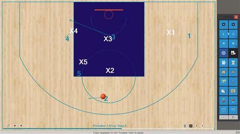 turbostats animated basketball playbook youtube
