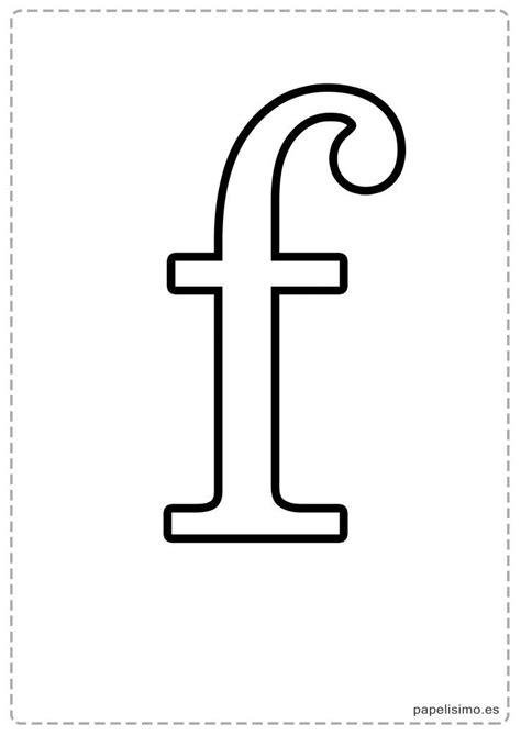 F-Abecedario-letras-grandes-imprimir-minusculas | Alphabet