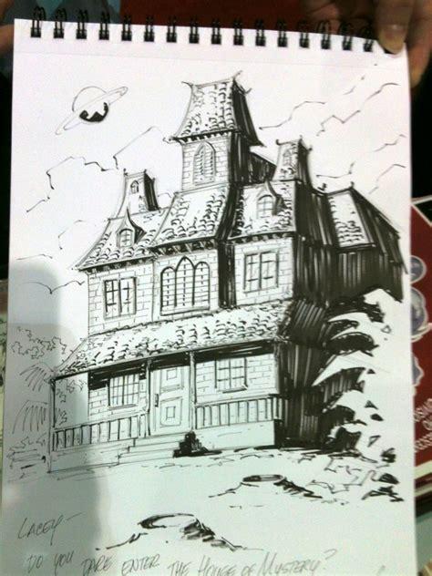 house of mystery house of mystery sketch jose marzan jr