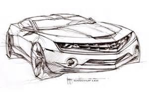 Design Sketch For The the design sketch board car body design
