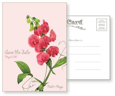 sweet pea wedding invites sweet pea vintage postcards luxury wedding invitation