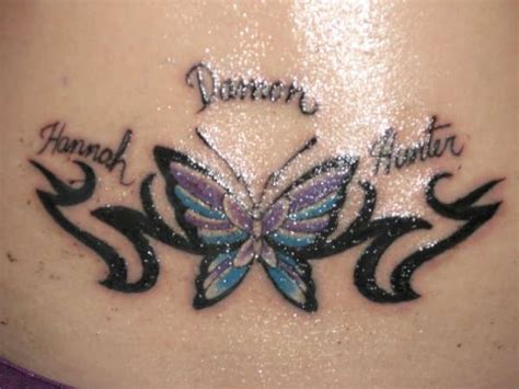 tr st tribal tattoos 25 best ideas about butterfly tattoos with names on