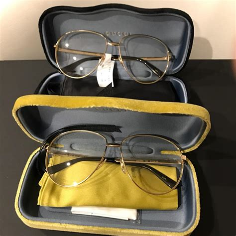 Aviator Metal Glasses gucci gold aviator metal glasses with web 434036 kris wu