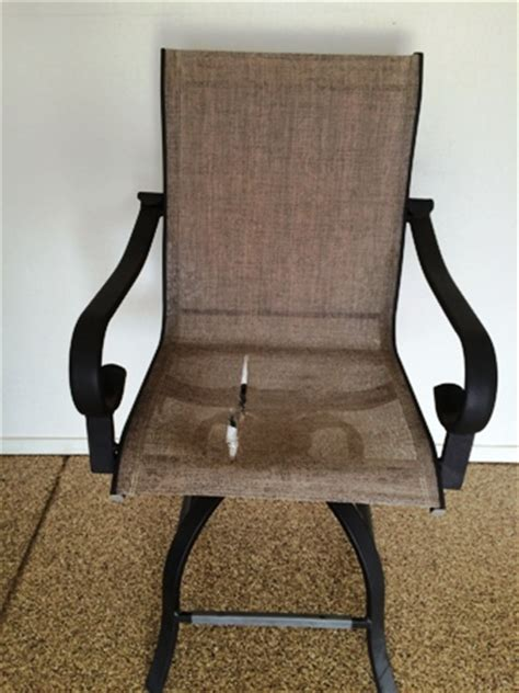 Patio Furniture Chair Sling Replacement in Arizona