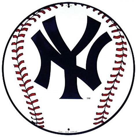 Kitchen Jars And Canisters new york yankees baseball logo metal sign sports team