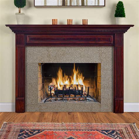crestwood custom wood fireplace mantel