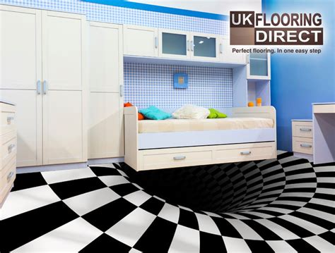 bathroom floor illusions painted bathroom floor optical illusion wood floors