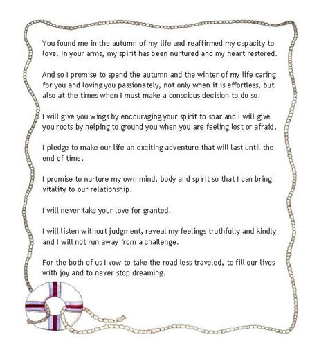 Wedding Vows For Couples wedding vows for an inspirational marriage