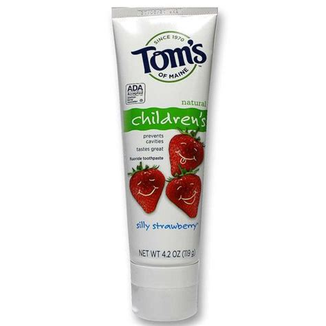 Fluoride Detox Supplements by Tom S Of Maine Children S Fluoride Toothpaste Silly
