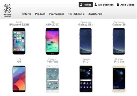 offerta mobile 3 conviene acquistare lo smartphone con tre