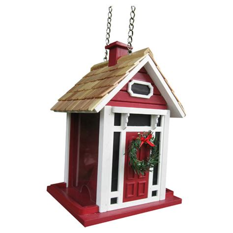 holiday offerings christmas cottage decorative hopper bird