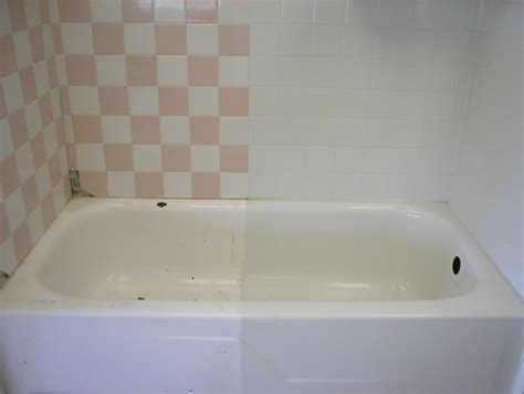 remodel bathroom bathtubs by repainting it to make it look