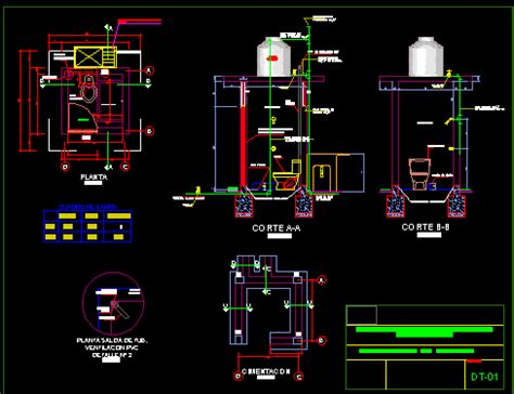 improved latrine system dwg detail  autocad designs cad