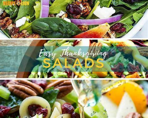 Traditional Thanksgiving Salads