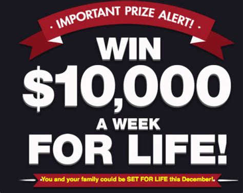 Win Money A Week For Life - motivational monday how winning could change your life pch blog