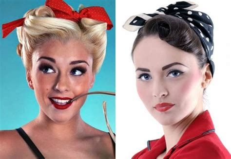 1950 Pin Up Hairstyles by 1950s Rockabilly Hairstyles Hairstyles By Unixcode