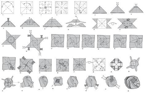 imagenes de flores origami paso a paso origami rosa paso a paso imagui