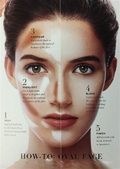 oval face how to make up oval face step by step makeup ty