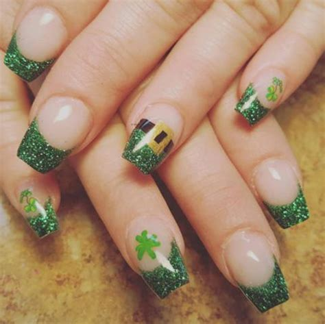 st pattern nails 4 must have stunning st patrick s day nail designs