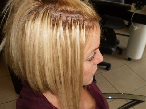 short hair extensions for thinning hair micro extensions for thin hair short hairstyle 2013