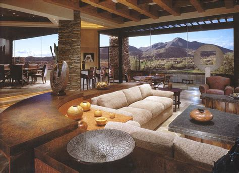 Desert Interior Design by Desert Mountain Living Room By Design Directives Llc