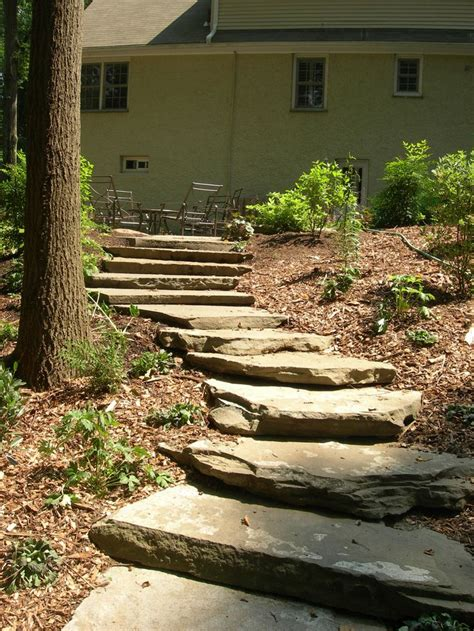 another sloping walkway idea ideas for the yard pinterest