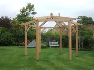Hexagonal Pergola Designs hexagonal pergola oxford oak blog