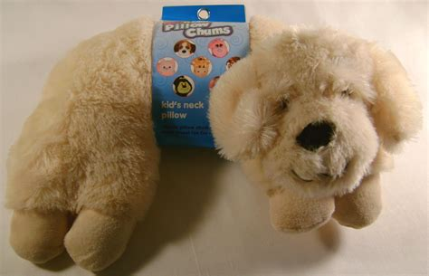 Kellytoy Pillow Chums by Kellytoy Neck Pillow Chums Golden Labrador Travel
