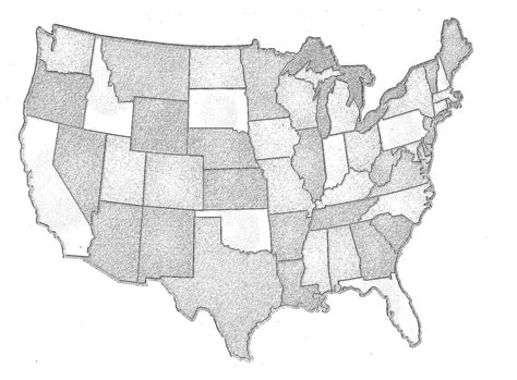 small map of the united states small gifts to send to your sponsored friend unbound